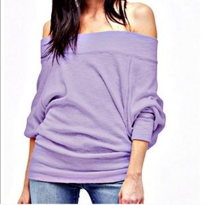 Free People We The Free Palisades Lilac Tunic